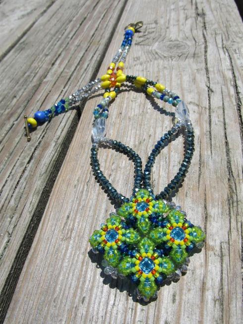 Diamond Patience in Bloom Necklace